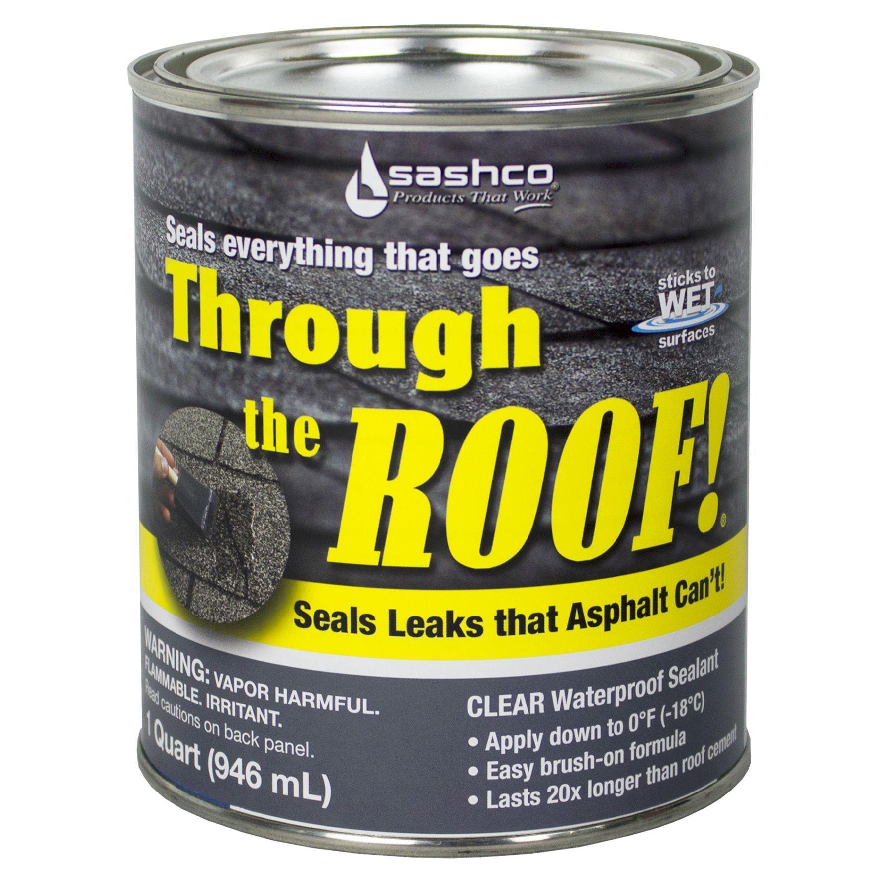 Sashco 14023 Qt 1 Quart Through The Roof Sealant
