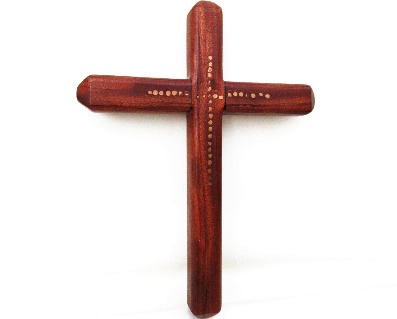 Vintage Wall Cross | Wooden Cross | Folk Art Wood Cross ...