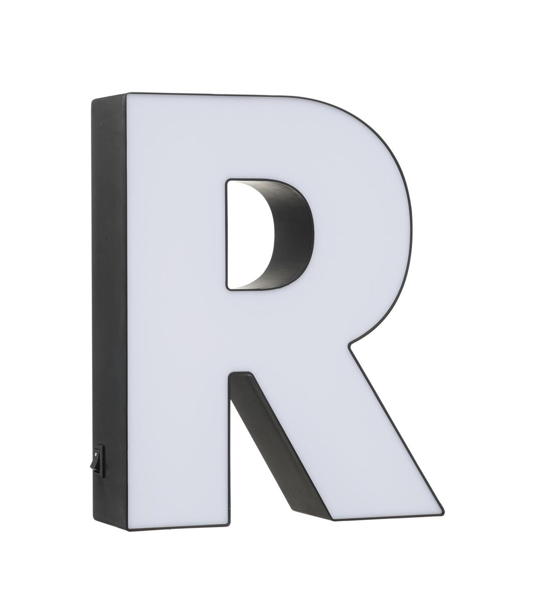 light box letter R   HEMA | Birthdays/Christmas | Lettering