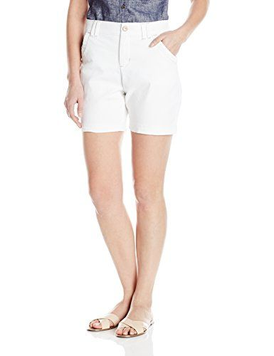 Lee Womens Comfort Fit Hettie Short White 14 Learn More By