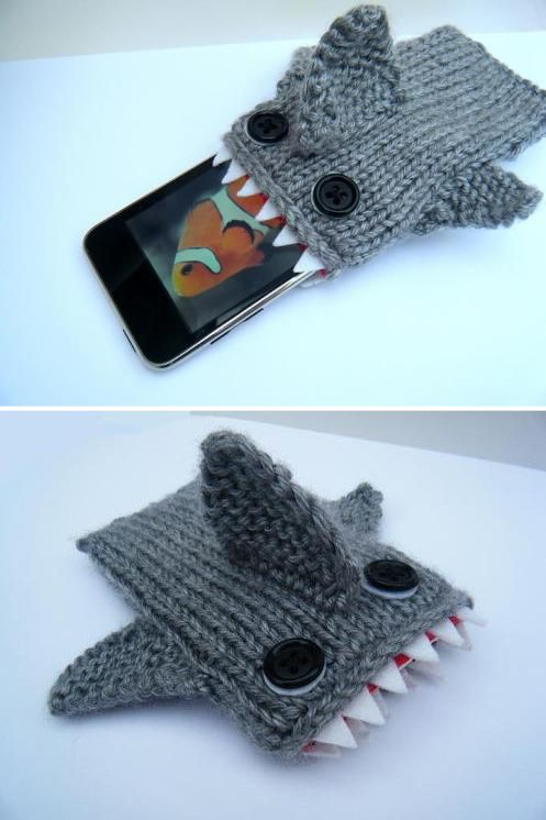 Shark Iphone Case Gio Pinterest Stricken Häkeln Stricken Und