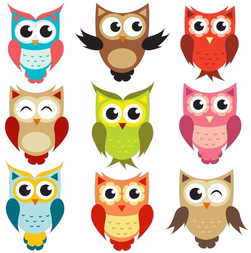 Anything Owls that look like these Owl clipart - being a wise owl   @Abby Christine Scrapbookaholic do you think you could help me make a few of these?