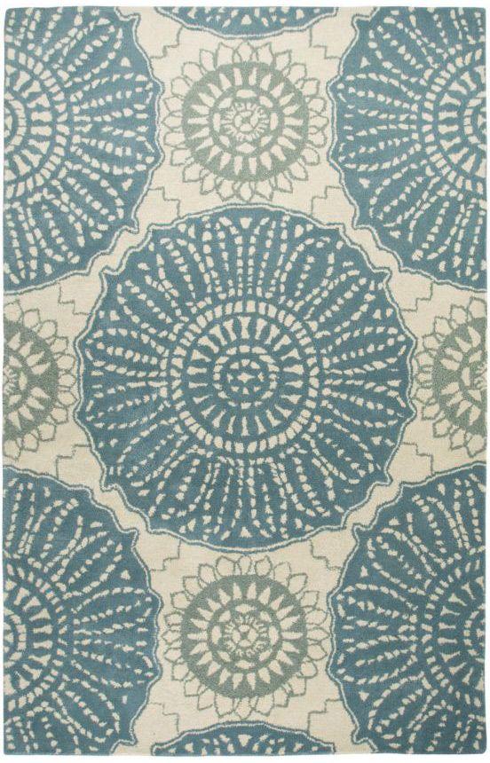 1410 9x12 Rizzy Rugs Waverly ME2 Aqua Rug Aqua rug