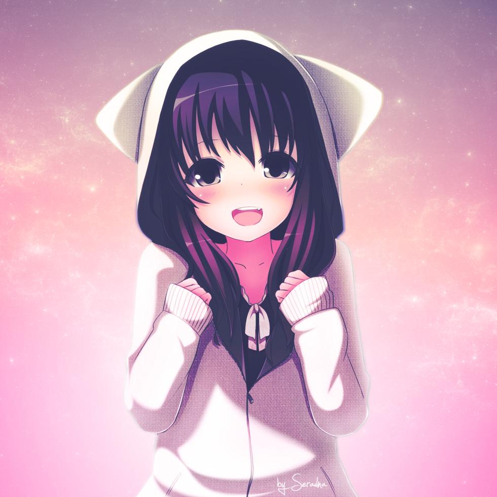 Kawaii girls pesquisa google cute pinterest - Anime pretty girl wallpaper ...