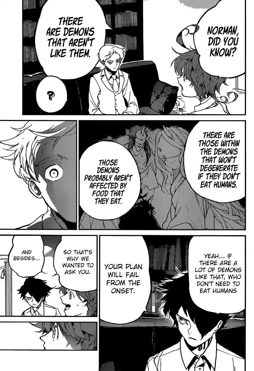 Yakusoku No Neverland Vol. Tbd Chapter 126: Three Party Dialogue - Manganelo