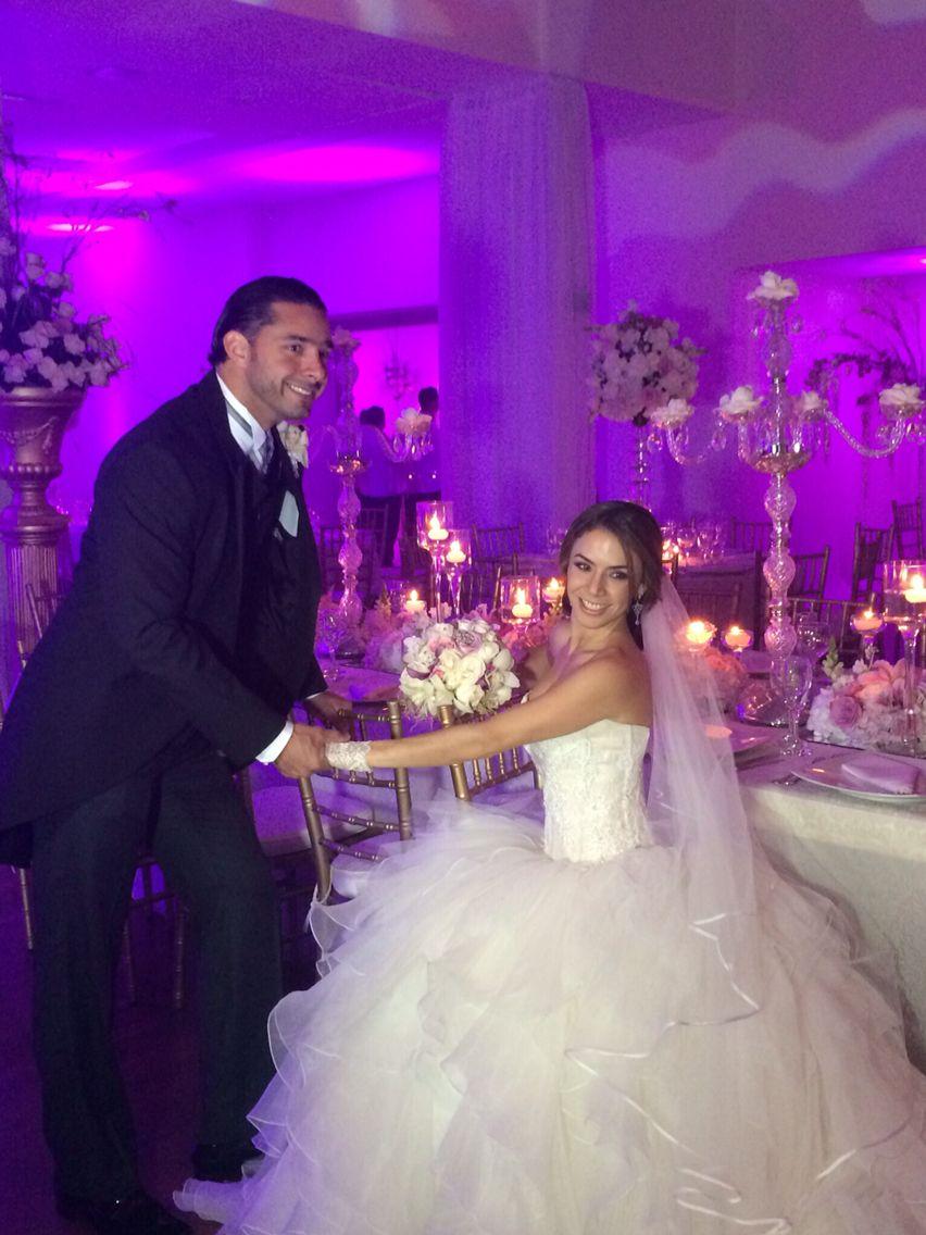 Like a fairy tale our wedding reception - Nuestra Boda fiesta de ...