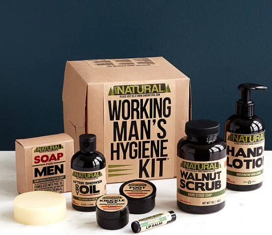 working man's hygiene gift kit