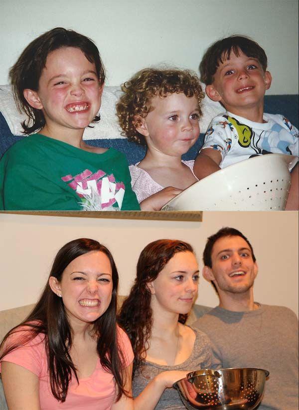 брат и сестра смешные фото