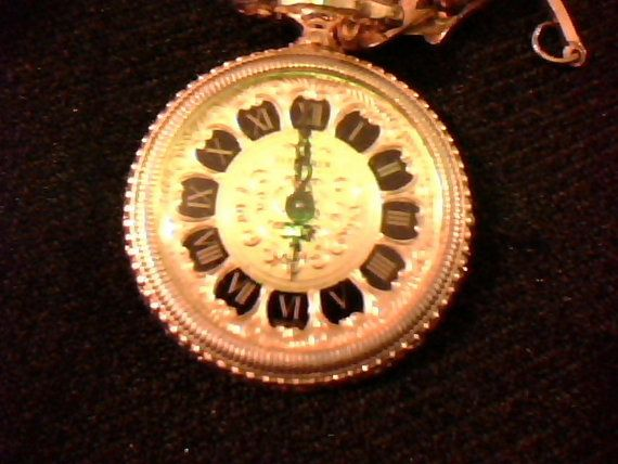 Vintage Bucherer ladies gold pendant watch by reubenburton on Etsy, $180.00