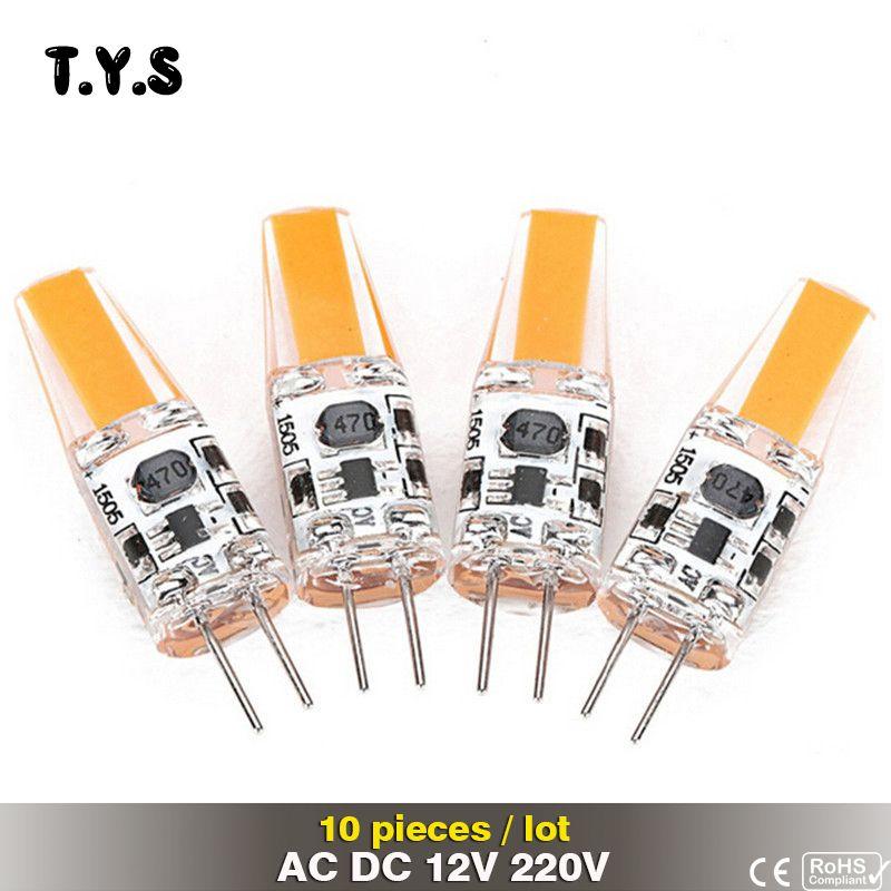 10pcs Lot G4 Bulb 12v Bombillas Led Smd Cob Light Bulb For Home G4 220v Led 3w Lampadine Milight Ampoule Led La Light Bulb Chandelier Led Light Bulb Light Bulb