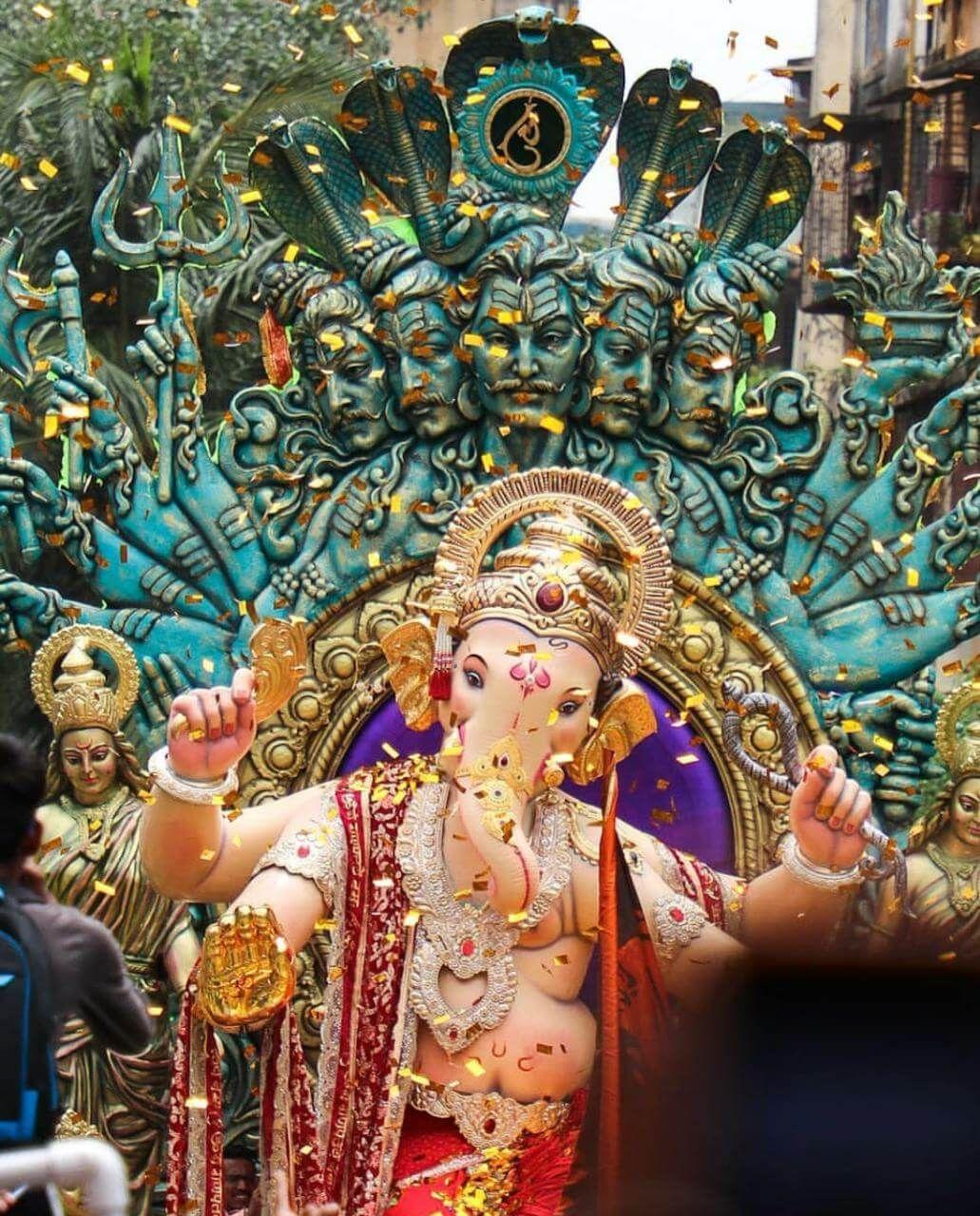 Chintamani Ganpati 2019 Photos Online Ganesh Wallpaper Hanuman Hd Wallpaper Ganesh Images