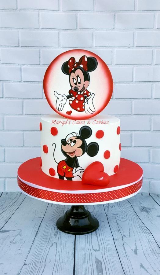 Mickey Minnie by Mariya's Cakes & Cookies