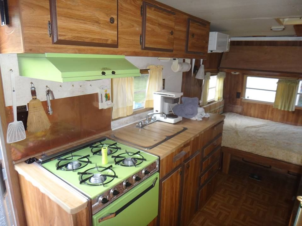 Inside The Coachman Cadet Rv Remodel Small Apartment Living Room Tiny House Appliances