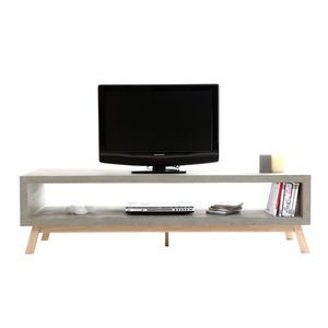 meuble tv design béton erwin - achat/vente meuble tv design béton ... - Acheter Meuble Tv Design