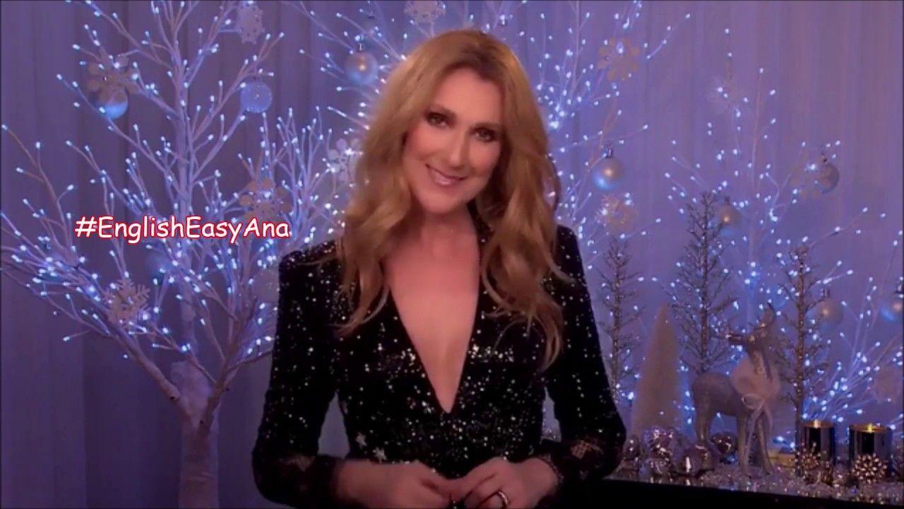 Celine Dion S Special Message For You In Christmas Celine Dion Celine Starworld