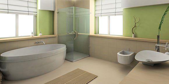 Marvelous Badezimmer Gestalten   Badezimmer Gestalten Moderne Badezimmer Möbel Ziel  Wasser Hatte Einen Starken Visuellen Eindruck