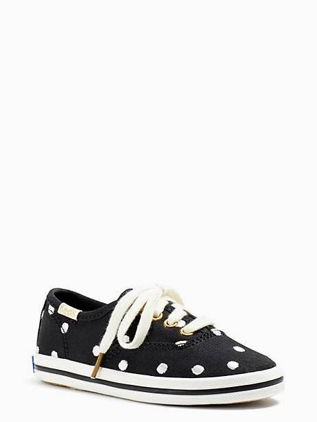 042ab800855 Keds Kids X Kate Spade New York Champion Dancing Dot Toddler Sneakers