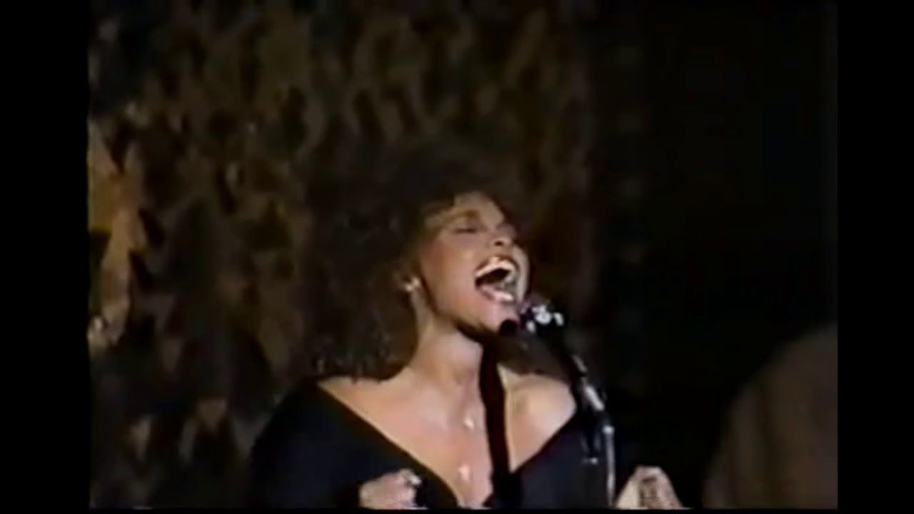 Rare The Greatest Love Of All Live 1989 Whitney Houston Whitney