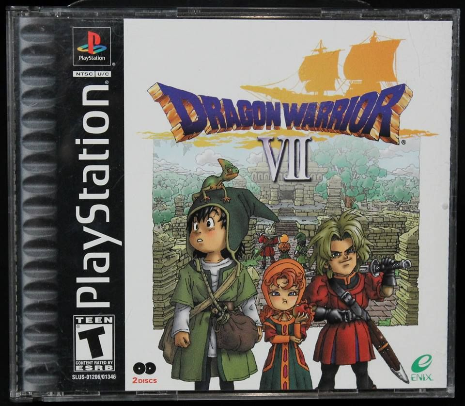 In the world, only this island is... Dragon Warrior VII by