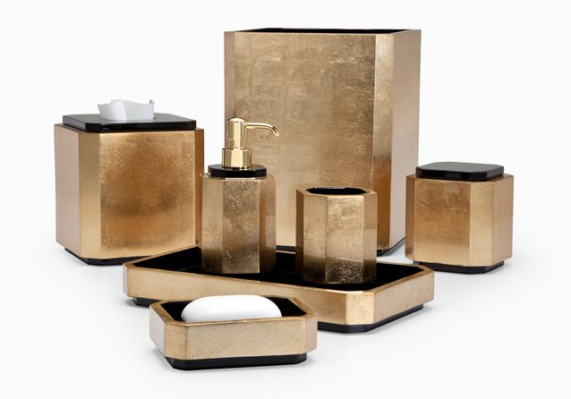 numi gold labrazel luxury bath accessories - Bathroom Accessories Luxury