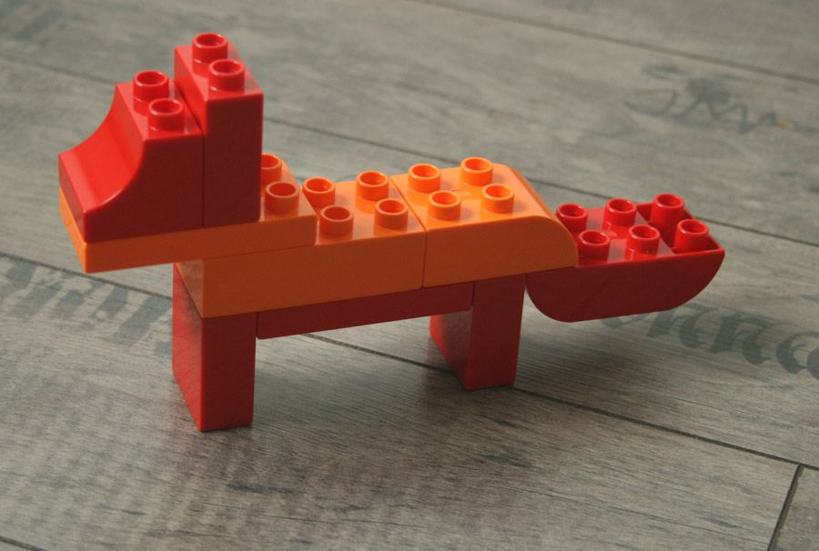 Duplo Duplo Fox Orange LEGO Animal