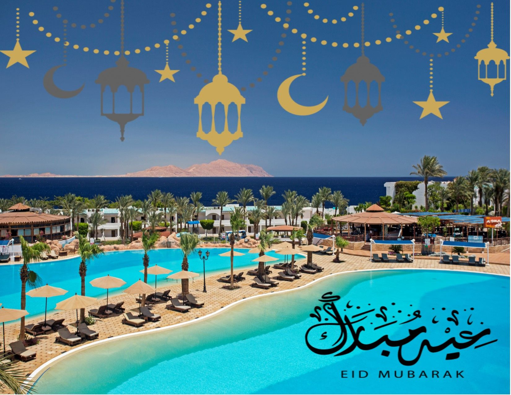 Eid Mubarak To Everyone From Sultan Gardens Family Sultangardens Wecareanditshows Egypt Sharmelsheikh Best All Inclusive Resorts Eid Mubarak Trip Advisor
