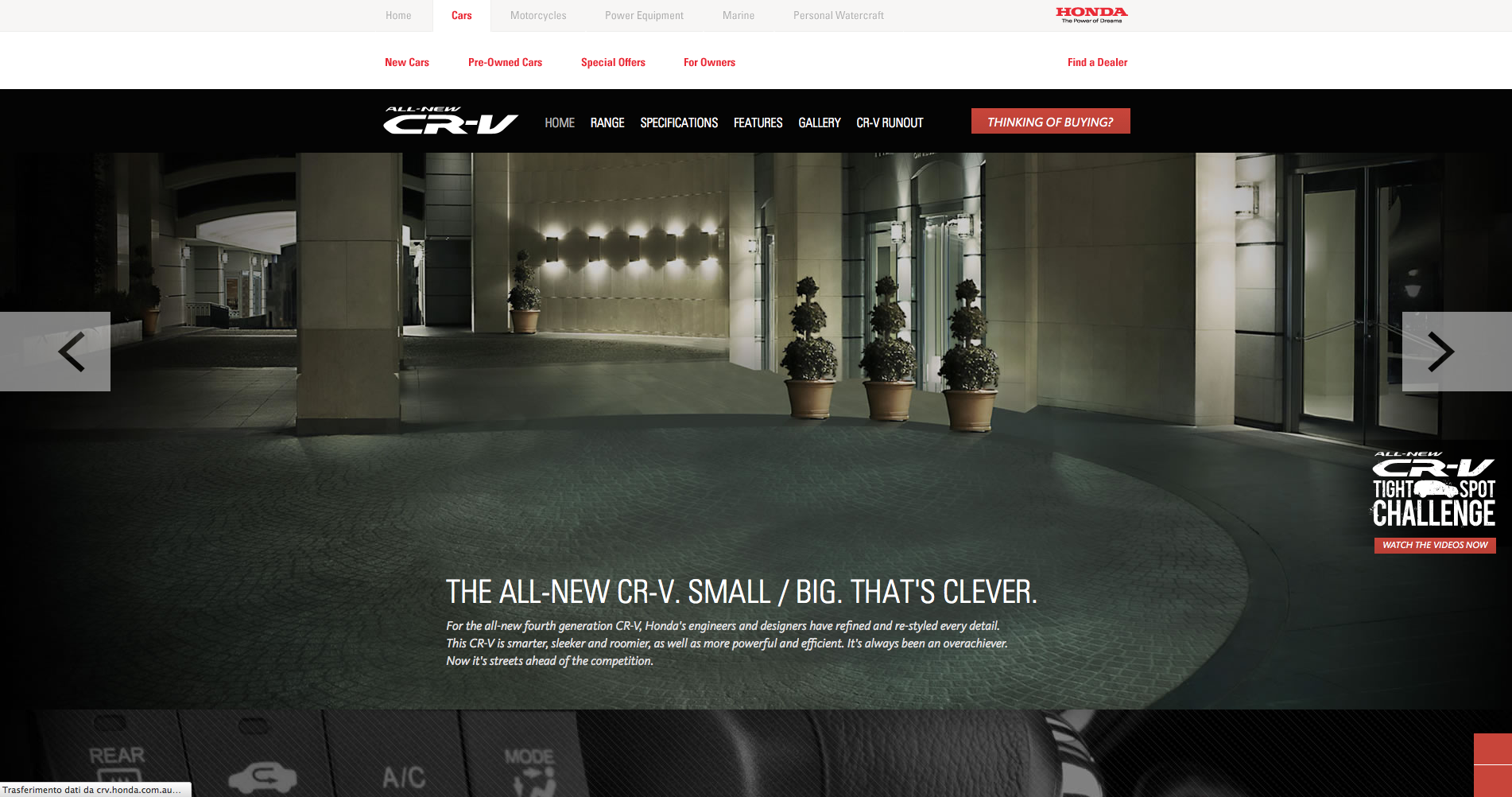 Official Honda CR-V Site   Home - Learn about the all-new Honda CR-V, the SUV that does everything better  repinned by www.BlickeDeeler.de