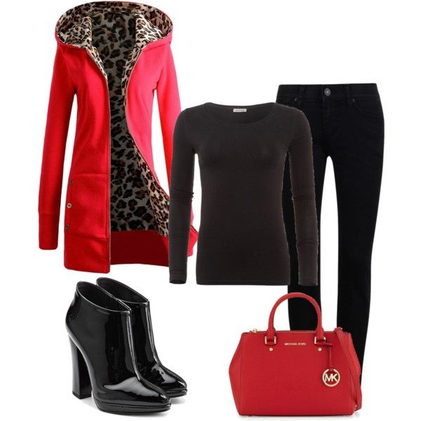A fashion look from September 2015 by jenny-oakley featuring American Vintage, Giuseppe Zanotti and MICHAEL Michael Kors