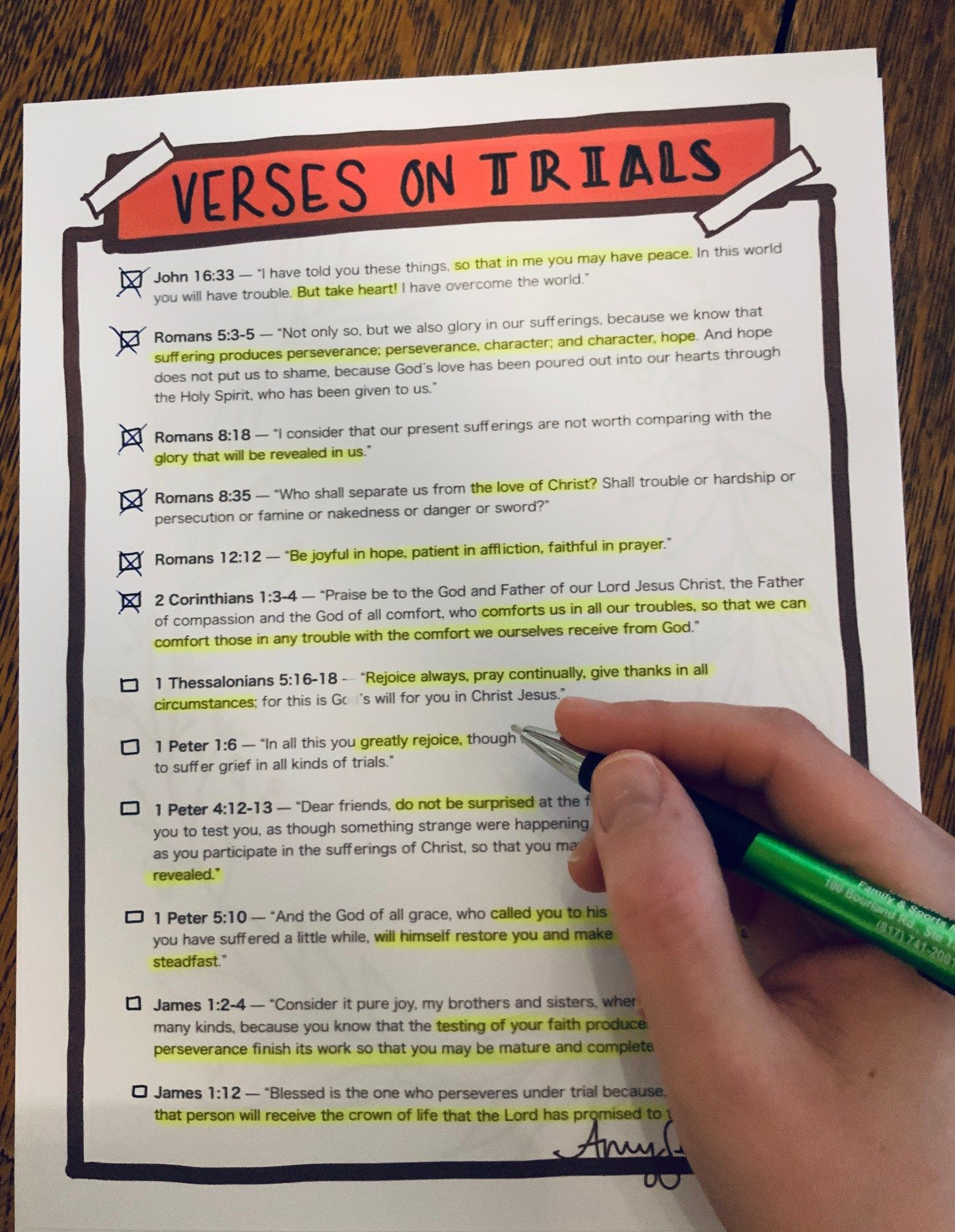 Fear Series Week 3 What The Bible Says About Trials