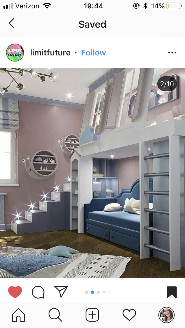 Pin By Karessa Sands On Home Decor Cool Kids Bedrooms Dream Rooms Girl Room