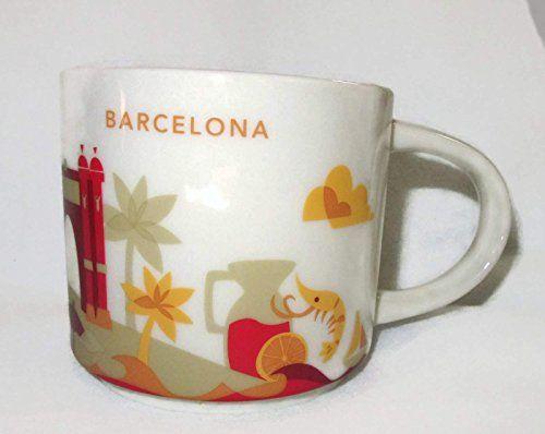 Starbucks barcelona yah mug you are here coffee cup for Mug barcelona