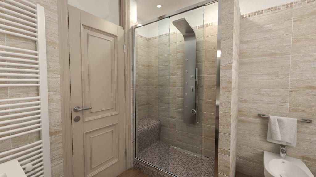Progetti di ristrutturazione di bagni privati bagno in stile di