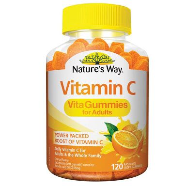 Natures Way Vitamin C Vita Gummies For Adults Vitamin C Has Become A Major Factor Of My Workouts Having One Prior Vitamins Vitamin Tablets Daily Vitamins