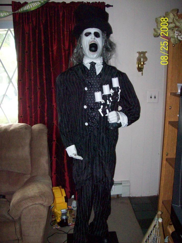 gemmy life size doorman - Www Gemmy Com Halloween
