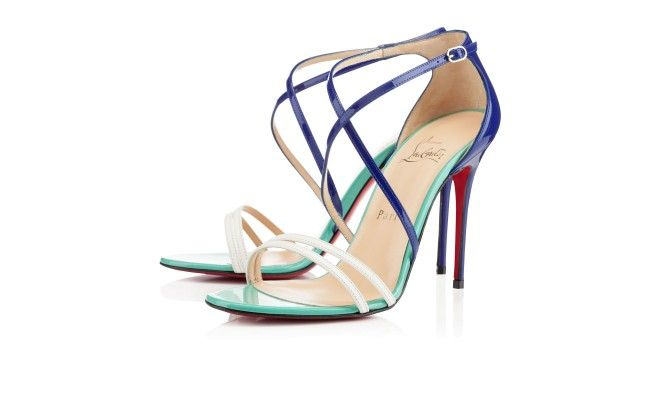 Something Blue - PURCHASED! - Wedding shoes | Gwynitta 100mm Neptune Gomme Leather | Christian Louboutin