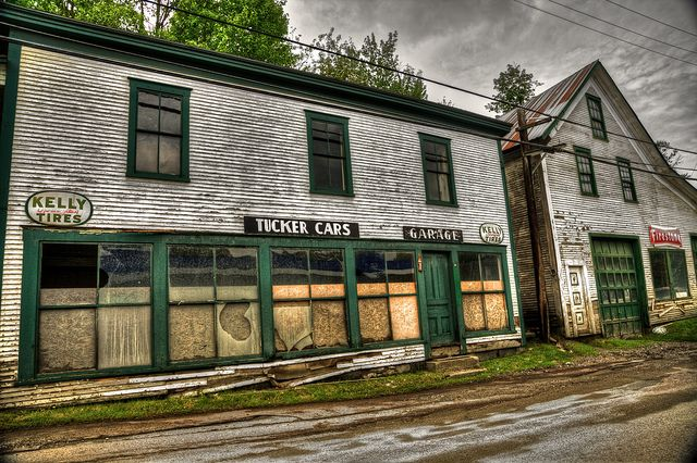 Old Abandon Business In Hardwick Vermont Joeybls Photography