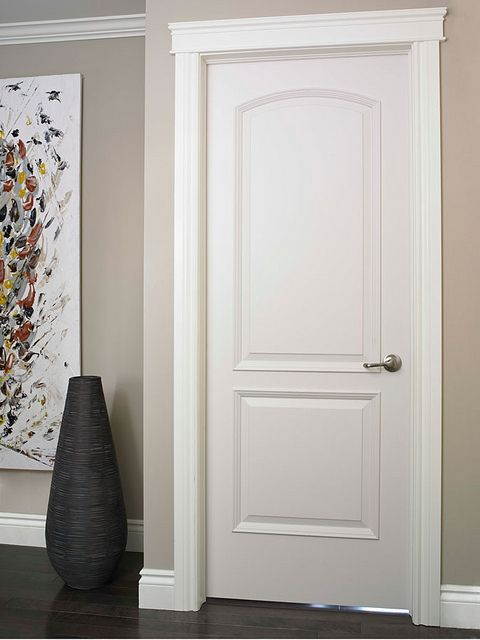 Continental Smooth Finish Moulded Interior Door | Decorating ...
