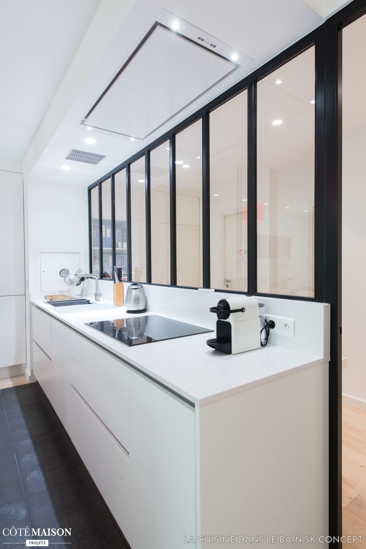 une cuisine blanche qui a de lallure sk concept la cuisine dans le