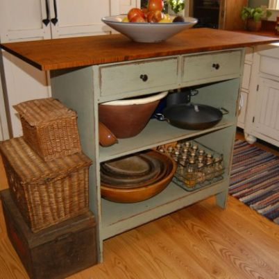 1890 Cottage Style Kitchen - traditional - spaces ...