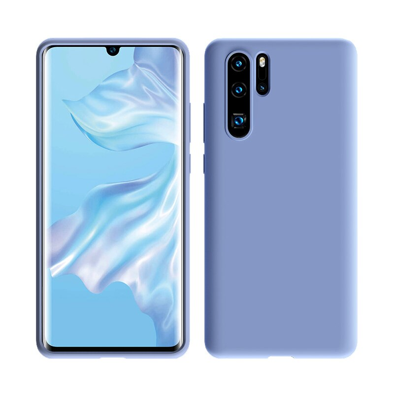 Luxury Shockproof Silicone Case For Huawei P30 Pro P20 Lite Mate 20 Nova 3 Phone Back Cover Huawei P30pro Case P20pro P 20 30 On In Fitted Cases From Cellphones In 2020