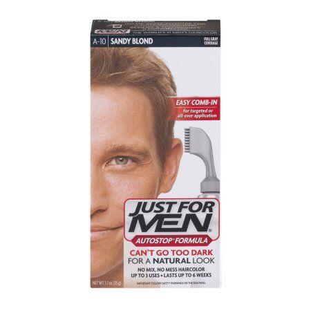 af00d7d1006 Just For Men AutoStop Formula Easy Comb-in Haircolor A10 Sandy Blond ...