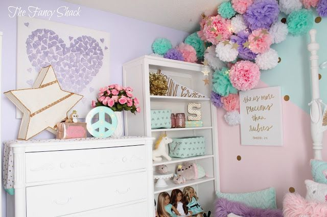 Sami Says Ag Sami S New Pastel Room Pastel Girls Room Unicorn Room Decor Room Makeover