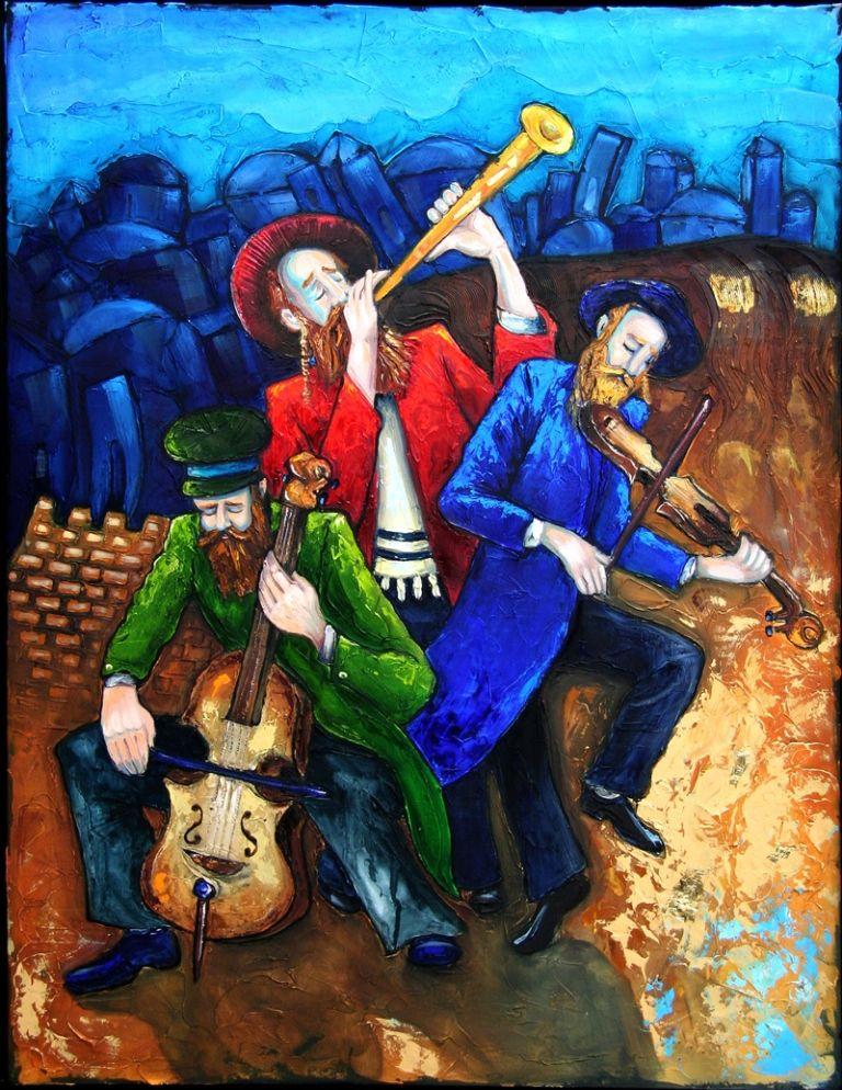 www.aliyaharts.com. Klezmer Art by Haim Sherff.