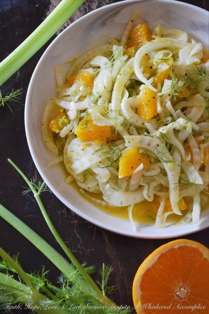 Crunchy Fennel & Fresh Orange Salad