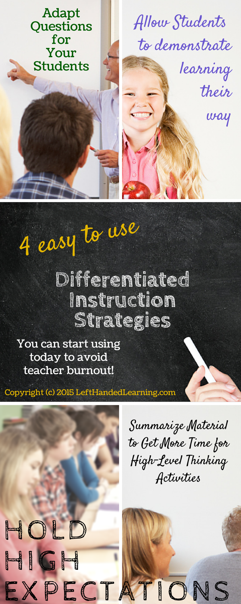 4 Easy To Use Differentiated Instruction Strategies Avoid Teacher