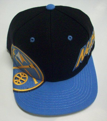 f2cd0f3b3 Denver Nuggets Flat Bill Snapback Hat by Adidas - Price: $12.99 ...