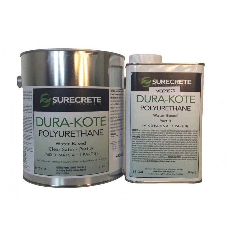 Polyurethane Water Based Clear Coating Dk400wb Metallic Epoxy Floor Concrete Decor Polyurethane