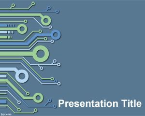 Electronic Powerpoint Template Powerpoint Template Free Powerpoint Presentation Templates Powerpoint Templates
