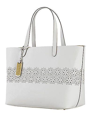 Laser-Cut Classic Tote | Lord and Taylor