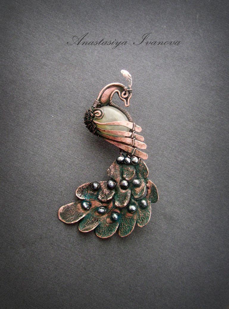 brooch firebird by nastya-iv83 | WRJ | Pinterest | Firebird ...